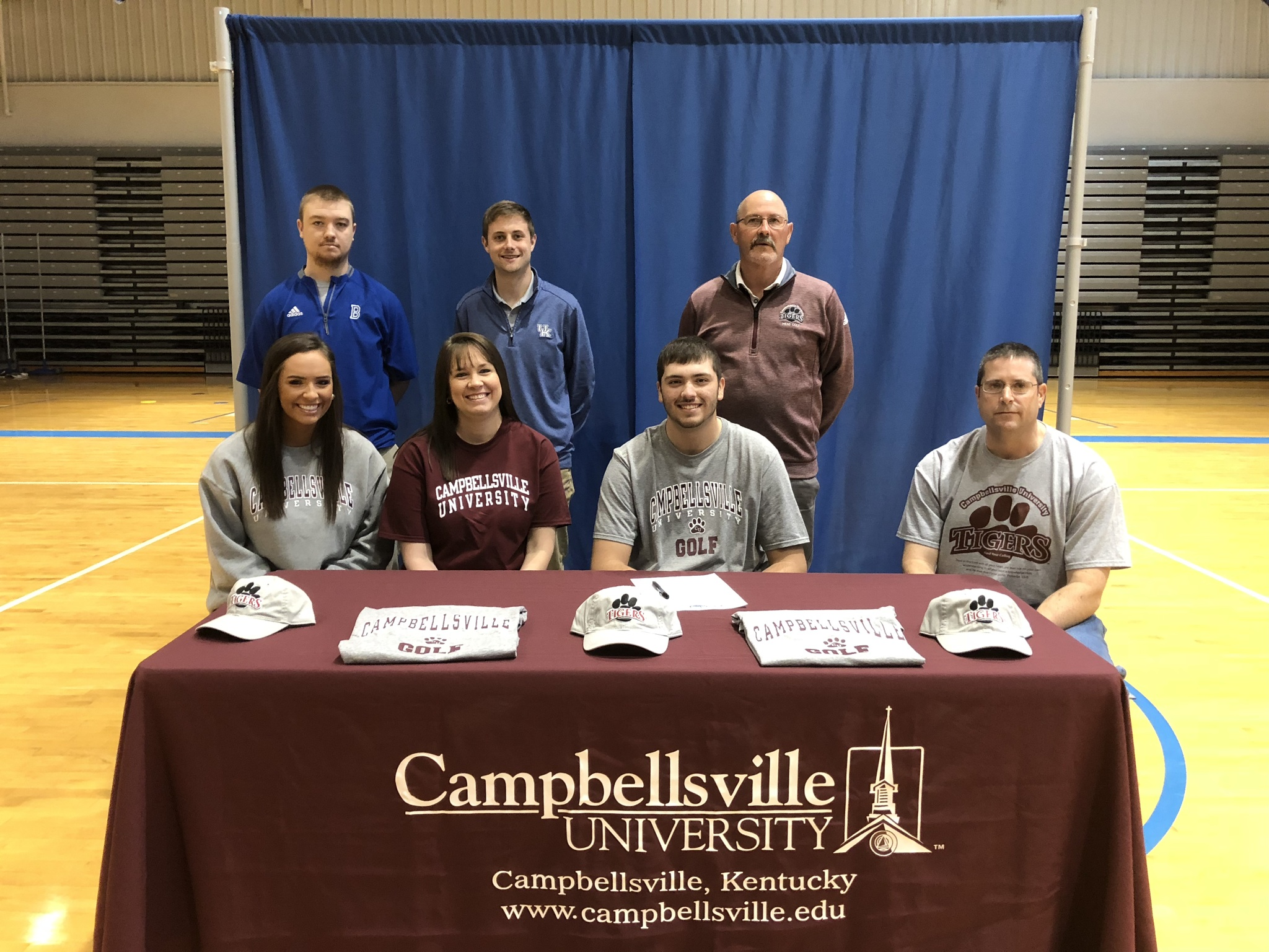 Seth Bohl signs with Campbellsville University to play golf.