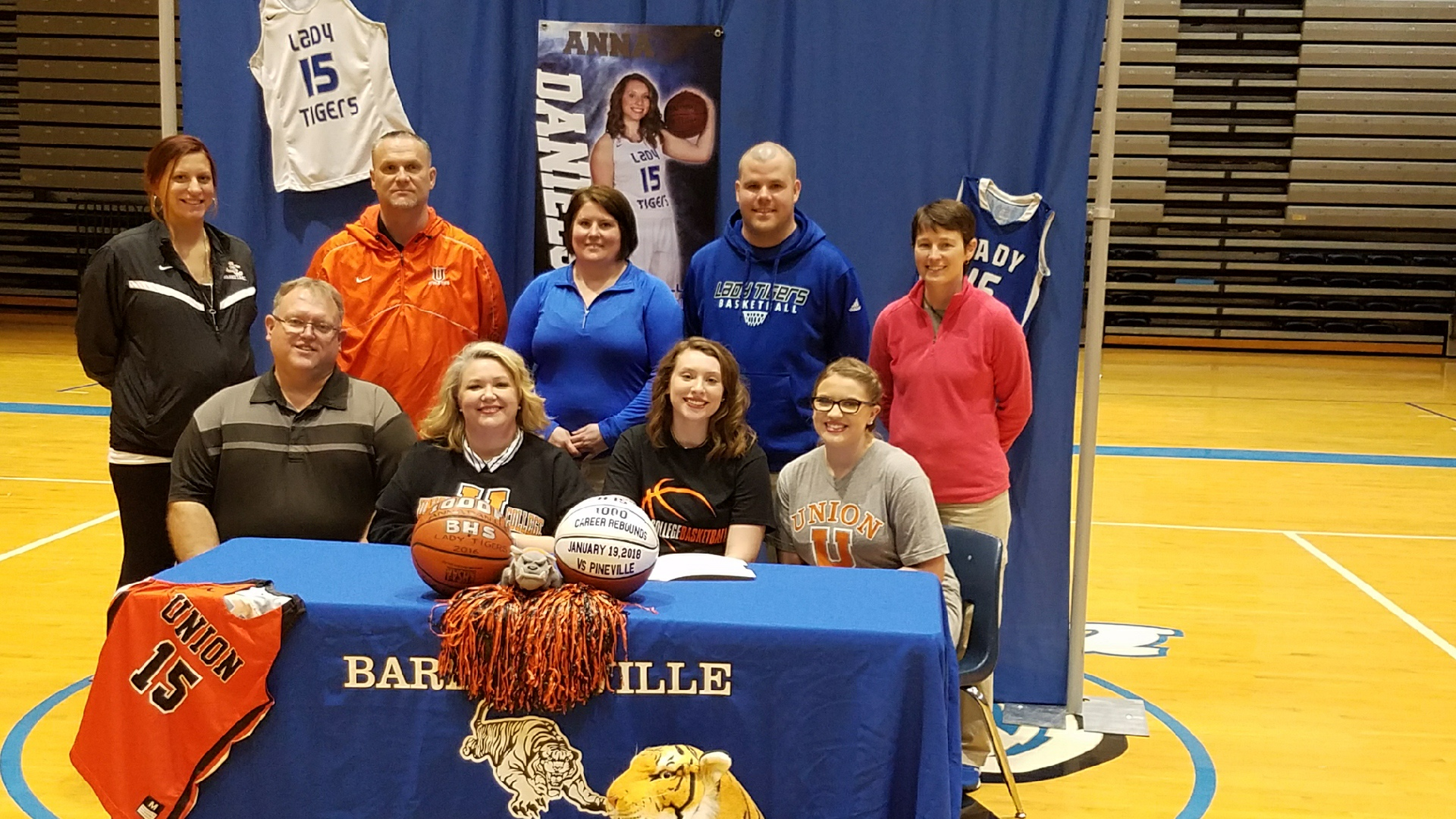 Anna Daniels signs to play Basketball for Union College