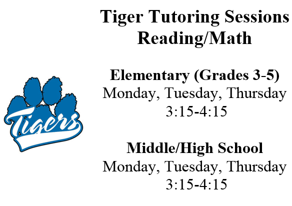 Tigers Tutoring Sessions Picture